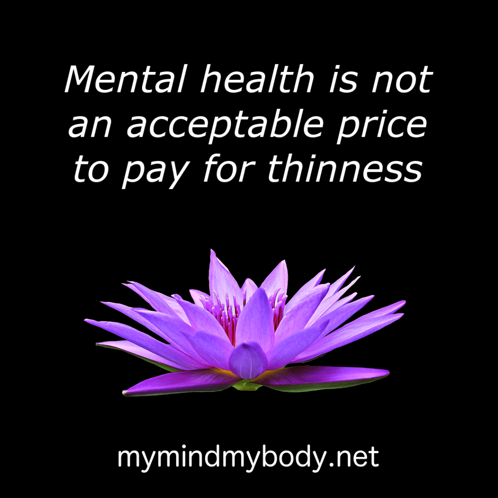 Mental health over thinness my mind my body when i decided to stop dieting i re wired my brain with the help of a visual reminder check out post it therapy for helpful quotes just like this one izmirmasajfo